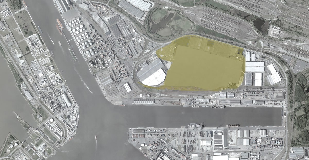Strategic Options for Churchill Site in Port of Antwerp