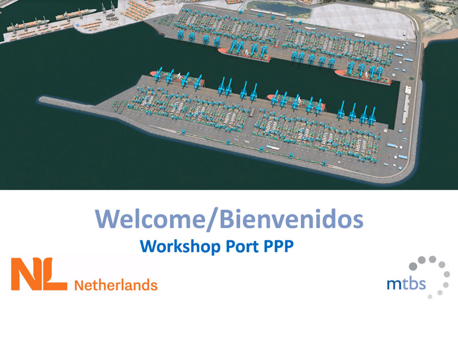 MTBS, in cooperation with the Dutch Embassy in Chile, hosted a Port PPP and Financing workshop for the Chilean state port operator EPSA and the Chilean Ministry of Transport and Telecommunications