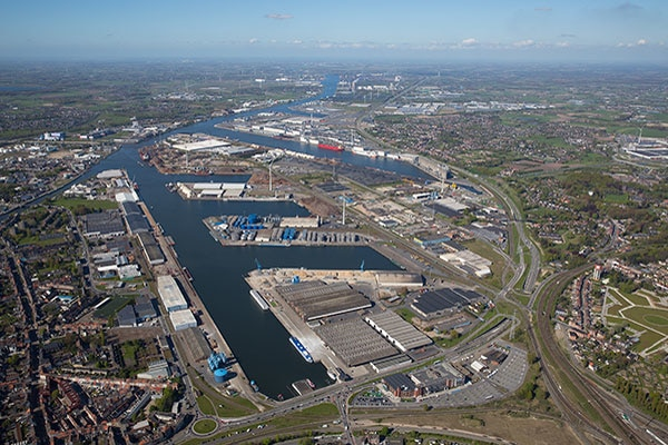 Technical and Operational Consulting for the Development of a New All-Weather Terminal in the Port of Ghent
